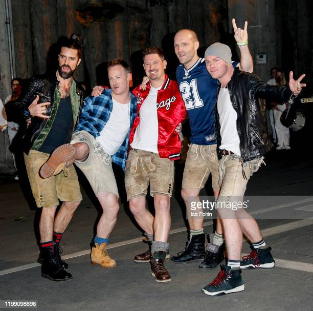 Voxxclub during the television show Schlagerchampions Das grosse Fest der Besten at Velodrom on January 11 2020 in Berlin Germany