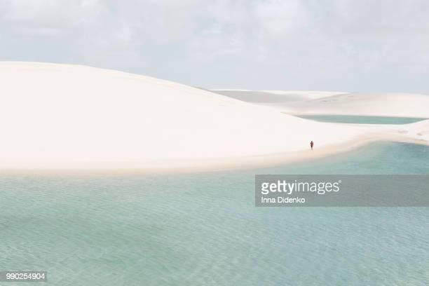 voyage - lencois maranhenses national park stock pictures, royalty-free photos & images