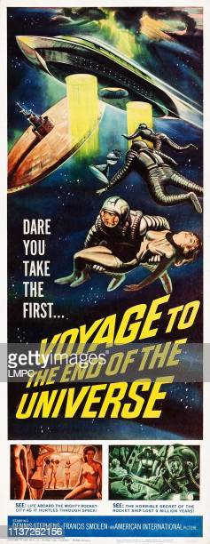 Voyage To The End Of The Universe poster US poster art 1963