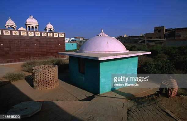 Vrindavan gardens, where Krishna played with the Gopis.