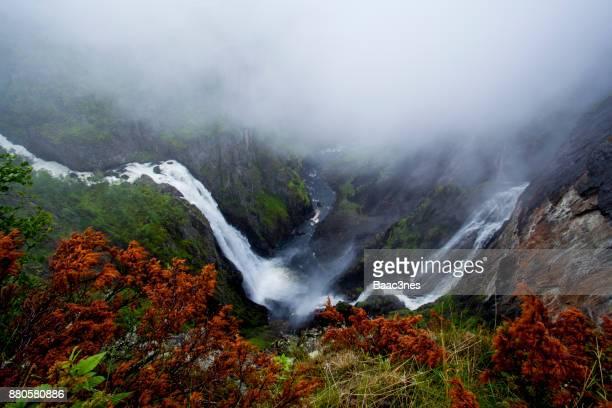 Vøringfossen - Famous waterfall in Eidfjord, Norway