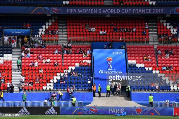 USA vs CHILE at the 2019 World cup in France in Parc des Princes in Paris