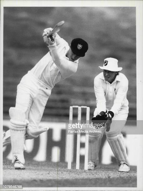 NSW Vs New ZealandMatthews drives Coney November 16 1985
