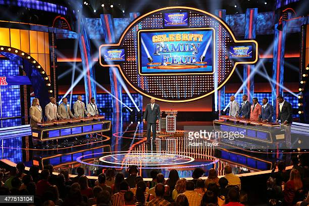 FEUD 'NFL AFC vs NFC and Dancing with the Stars vs The Bachelor' 'Celebrity Family Feud' will feature players from the National Football League...