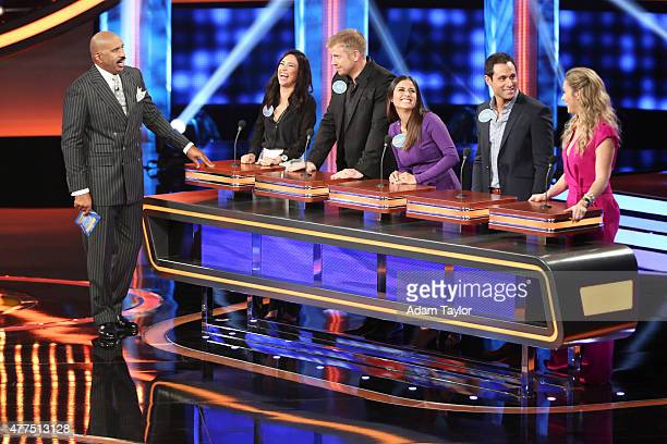 """Vs NFC and Dancing with the Stars vs The Bachelor"""" -- """"Celebrity Family Feud"""" will feature players from the National Football League Players..."""