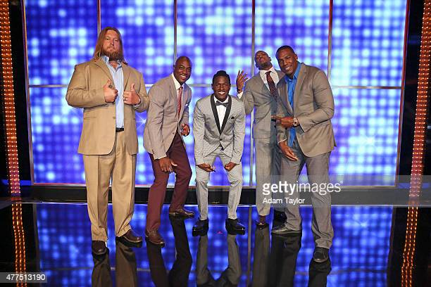 FEUD NFL AFC vs NFC and Dancing with the Stars vs The Bachelor Celebrity Family Feud will feature players from the National Football League Players...
