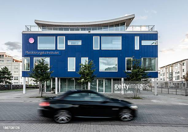 CONTENT] Västra hamnen Western Harbour Building of plastic surgery clinic Neighbourhood of Malmö former industrial part of city nowadays turned to...