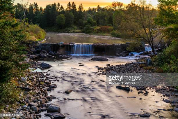 vt-northeast kingdom-burke-passumpsic river - brook mitchell stock pictures, royalty-free photos & images