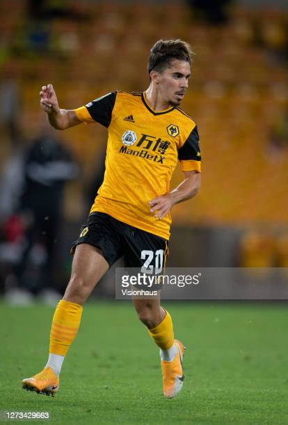 Vítor Ferreira of Wolverhampton Wanderers during the Carabao Cup second round match between Wolverhampton Wanderers and Stoke City at Molineux on...