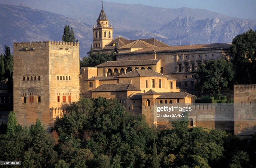 Vue de la Alhambra : News Photo