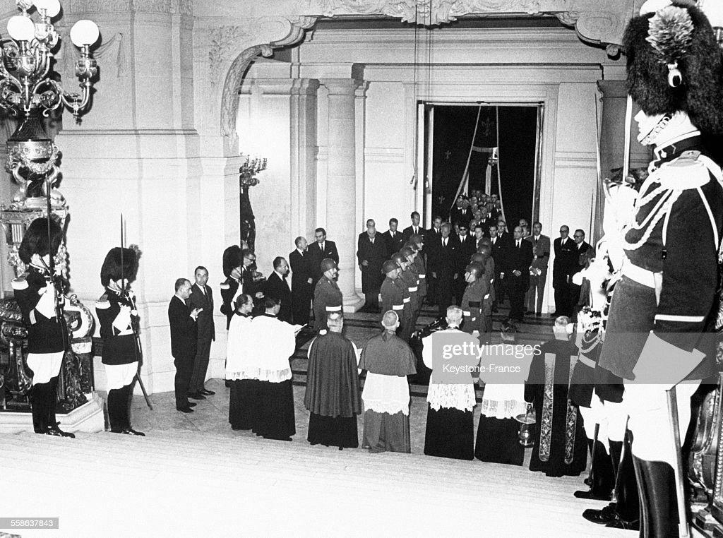 La chapelle mortuaire de la Reine Elisabeth de Belgique : News Photo