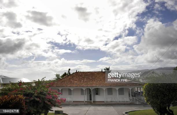 Vue de la maison d'Aimé Césaire prise le 15 avril 2008 à FortDeFrance Le poète martiniquais Aimé Cesaire 94 ans chantre du célèbre concept de...
