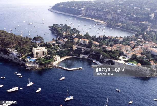 Vue de la presqu'île de SaintJeanCapFerrat France