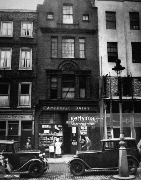Vue de l'immeuble où le corps de Max Kessel a été retrouvé criblé de balles à Londres RoyaumeUni le 2 février 1936