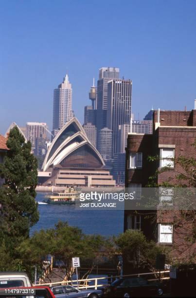 Vue de l'opéra de Sydney en 2000 Australie