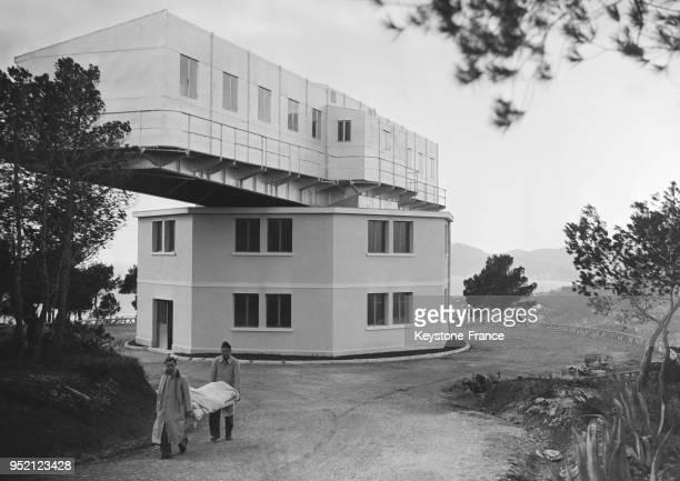 Vue du bâtiment de l'intitut à Vallauris France en 1935