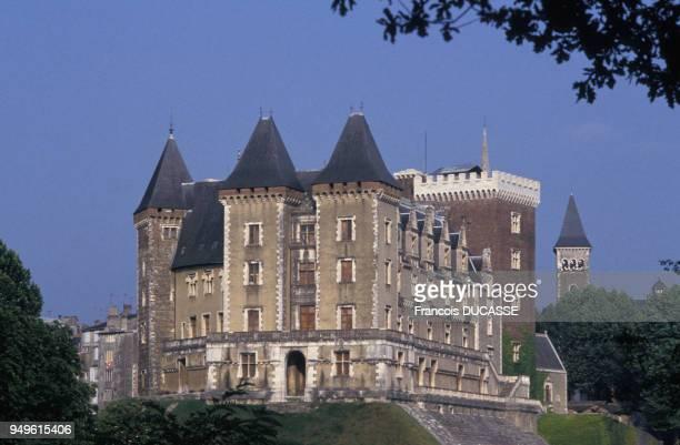 Vue du château de Pau, dans le Béarn, en France.