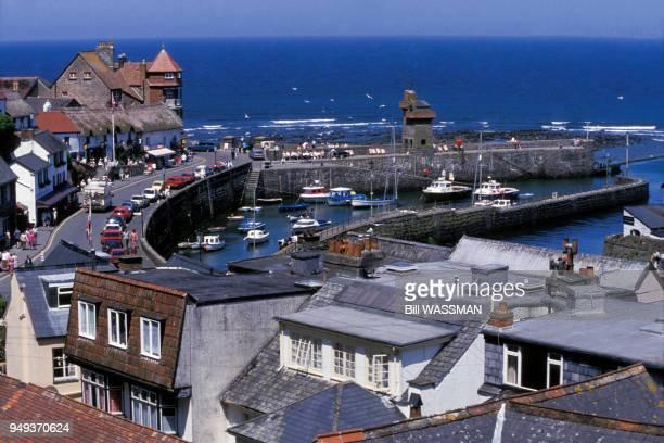 Vue du port de Lynmouth RoyaumeUni