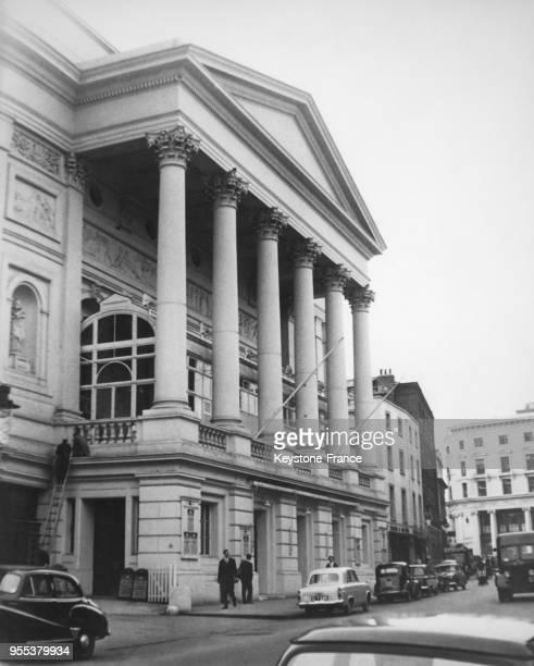 Vue du Royal Opera House à Covent Garden à Londres, Royaume-Uni.