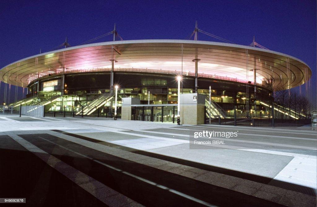 Vue Du Stade De France De Nuit A Saint Denis En Seine Saint Denis News Photo Getty Images