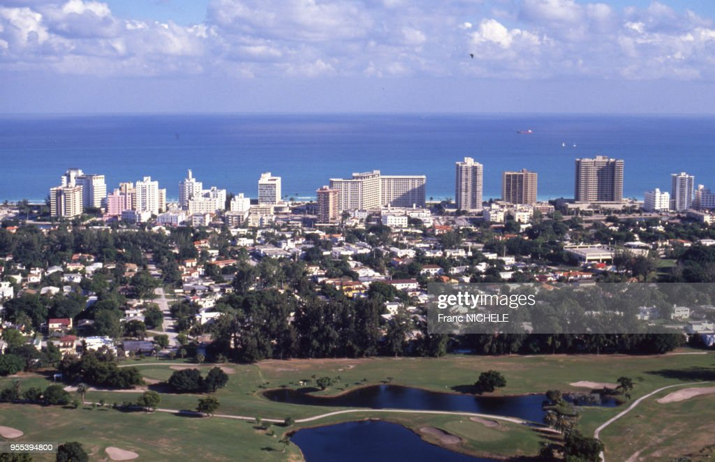 Terrain de golf à Miami : News Photo