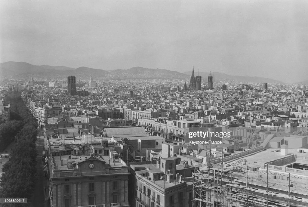 Barcelone en 1936 : News Photo