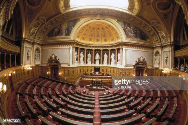 Vue générale du Sénat 13 aout 1985 Paris France