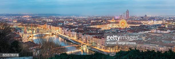 Vue panoramique Lyon
