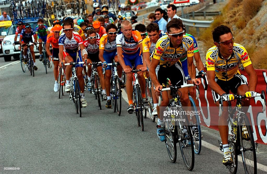 Vuelta a Espana, stage 16 - Once leading.