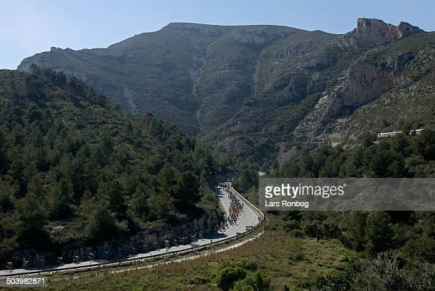 Vuelta Valenciana 2 etape Feltet i bjergomraadet syd for Valencia