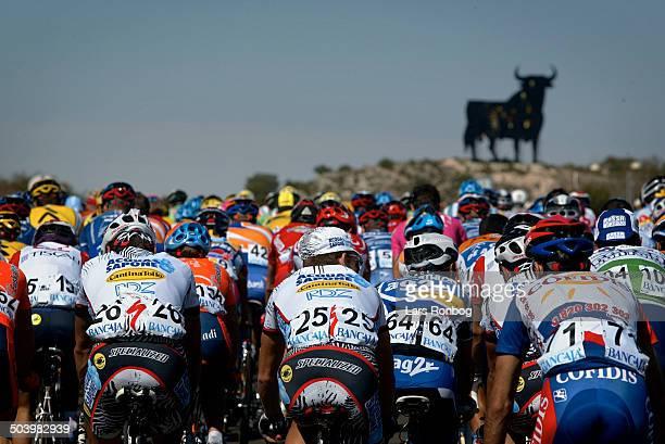 Vuelta Valenciana 2 etape Feltet paa vej mod Cullera