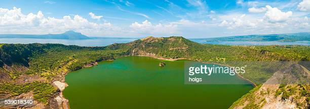 Vulcan Point Island and Crater Lake in Batangas, Philippines