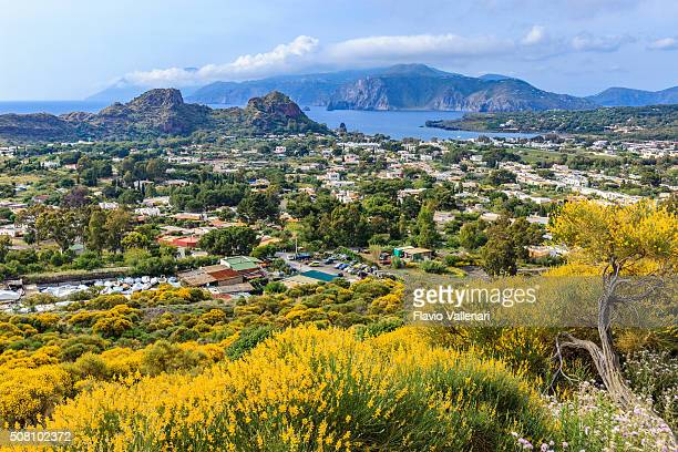 vulcano - aeolian islands, sicily - aeolian islands stock pictures, royalty-free photos & images