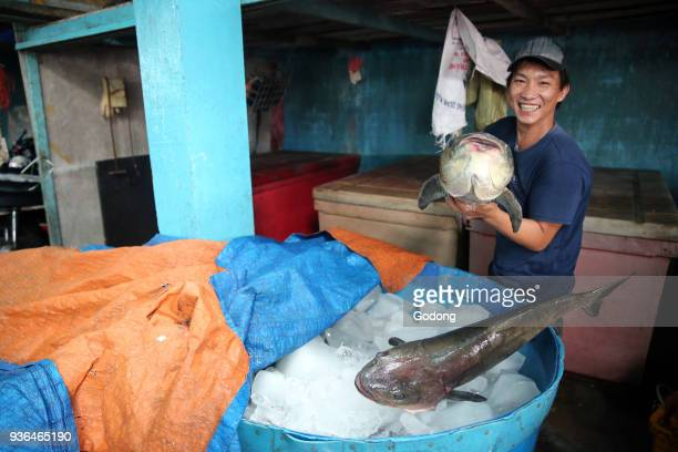 Vung Tau fish market Vietnam