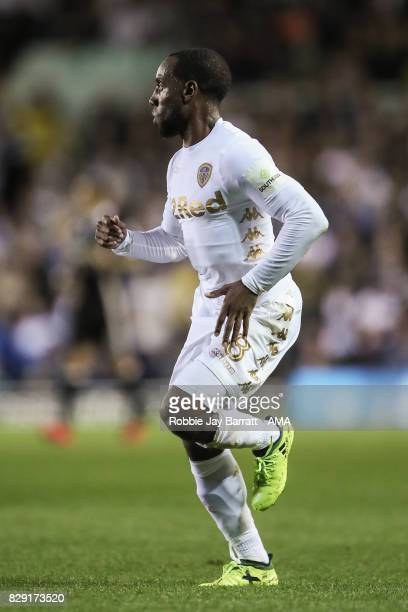 Vurnon Anita of Leeds United during the Carabao Cup First Round match between Leeds United and Port Vale at Elland Road on August 9 2017 in Leeds...
