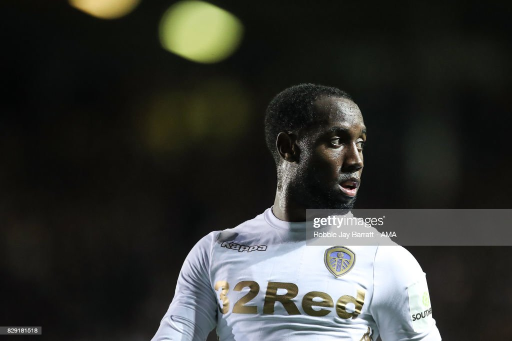 Vurnon Anita of Leeds United during the Carabao Cup First Round match between Leeds United and Port Vale at Elland Road on August 9, 2017 in Leeds, England.