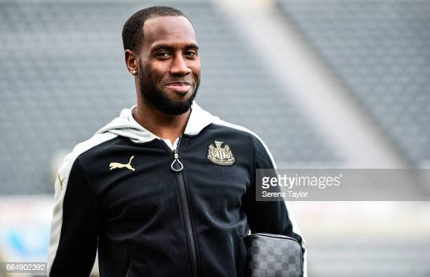 Vurnon Anita of Newcastle United arrives for the Sky Bet Championship Match between Newcastle United and Burton Albion at StJames' Park on April 5...
