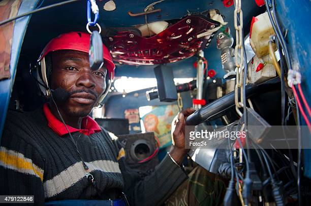 Vusimuzi Mbatha an unemployed man from Siza informal settlement during an interview on June 23 2015 in Rustenburg South Africa Mbatha built his own...