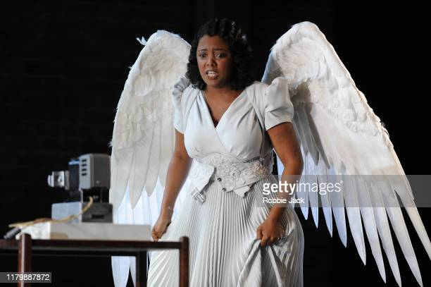 Vuvu Mpofu as Gilda in Giuseppe Verdi's Rigoletto directed by Christiane Lutz and conducted by Thomas Blunt at Glyndebourne Opera House on October 8,...