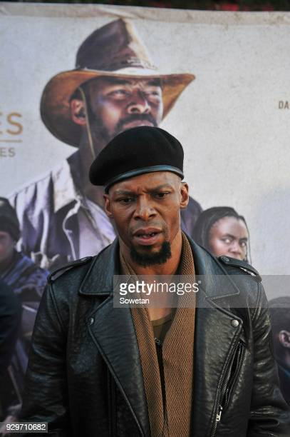 Vuyo Dabula during Five Fingers for Marseilles movie premiere at the Market Theatre on March 08 2018 in Johannesburg South Africa After its world...