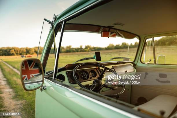 vw t2 (inside) - 1973 stock pictures, royalty-free photos & images