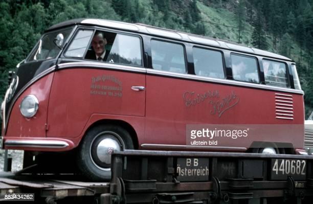 VWBus Samba 1955 Autoreisezug