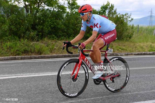 Vyacheslav Kuznetsov of Russia and Team Katusha Alpecin / during the 102nd Giro d'Italia 2019, Stage 6 a 238km stage from Cassino to San Giovanni...