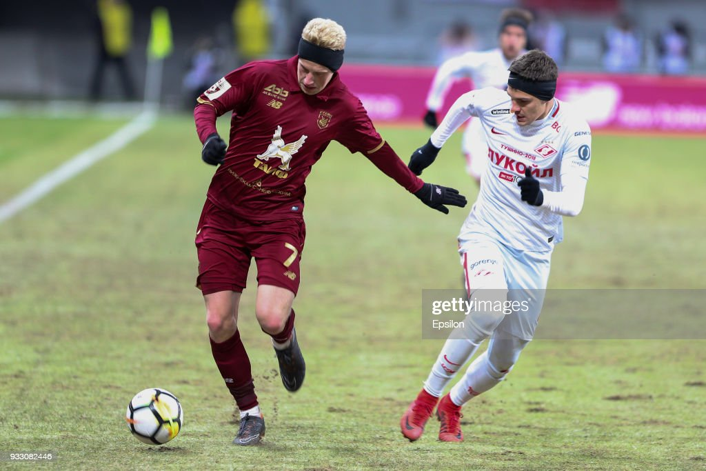 FC Rubin Kazan vs FC Spartak Moscow - Russian Premier League