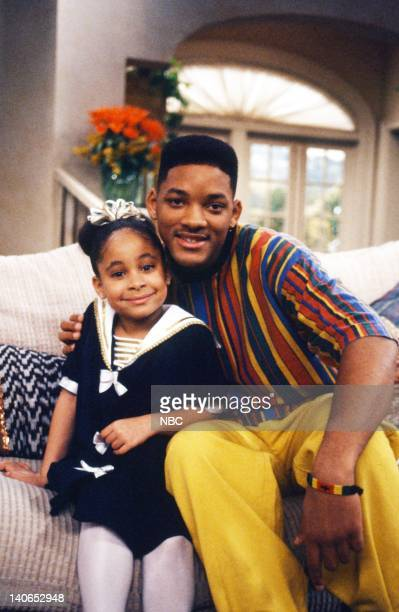 AIR 'Vying for Attention' Episode 21 Pictured RavenSymone as Claudia Will Smith as William 'Will' Smith Photo by Joseph Del Valle/NBCU Photo Bank