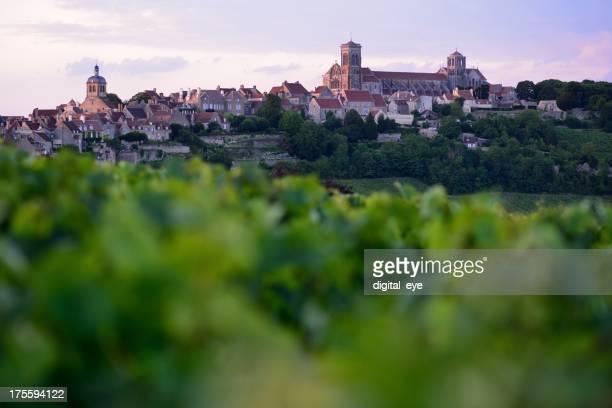Vézélay in Burgund, Frankreich