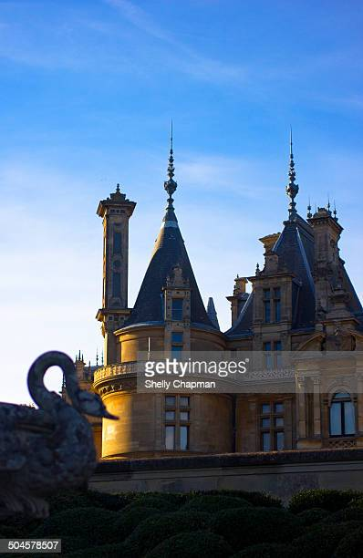 CONTENT] Waddesdon Manor is a country house in the village of Waddesdon Buckinghamshire England The house was built in the NeoRenaissance style of a...