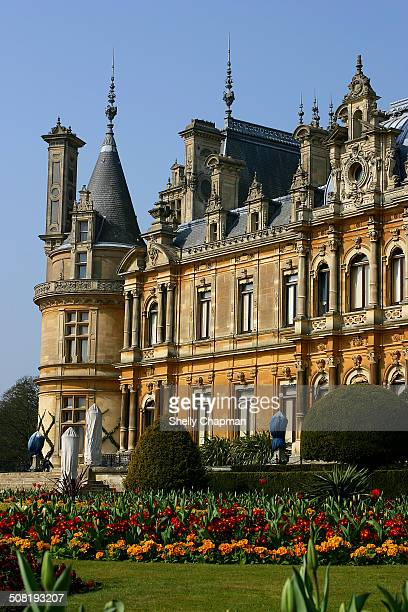 Waddesdon Manor is a country house in the village of Waddesdon, Buckinghamshire. The house was built in the style of a French château for Baron...