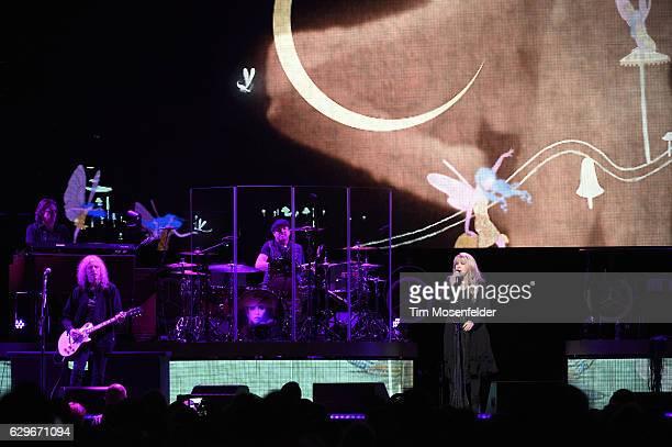 Waddy Wachtel and Stevie Nicks perform during Stevie's '24 Karat Gold Tour' at Golden 1 Center on December 13 2016 in Sacramento California