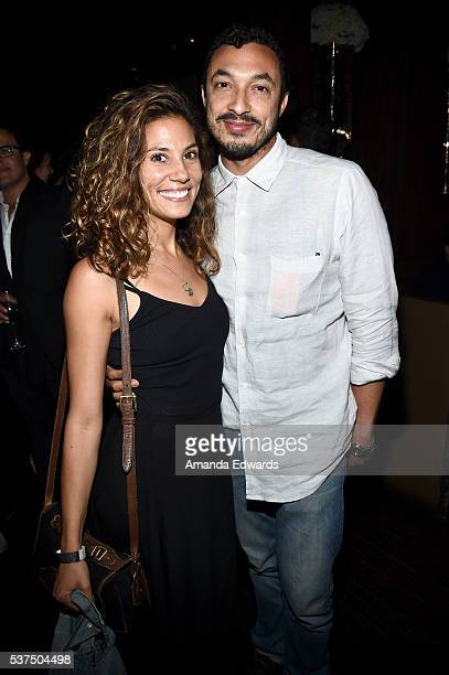 """Wade Allain-Marcus attends the after party for the premiere of """"Lowriders"""" during opening night of the 2016 Los Angeles Film Festival at Beso on June..."""